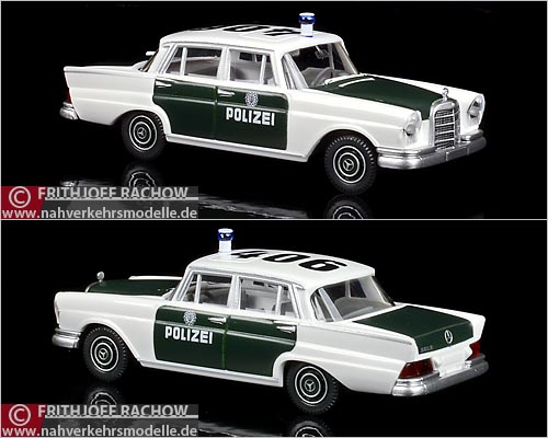Wiking MB220S Hamburger Polizei