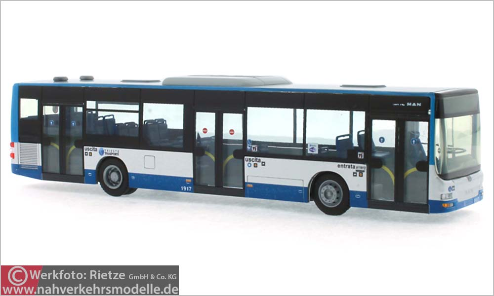 Rietze Busmodell Artikel 73907 M A N Lions City 2015 Trieste Transporti